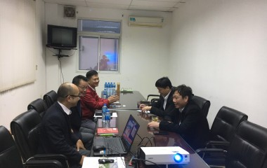 The meeting between Watanabe Pipe Vietnam Co., Ltd. and Department of International Cooperation - Ministry of Agriculture and Rural Development